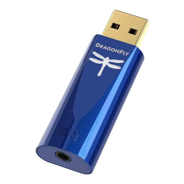 AudioQuest Dragonfly Cobalt USB DAC + Preamp + Headphone Amp