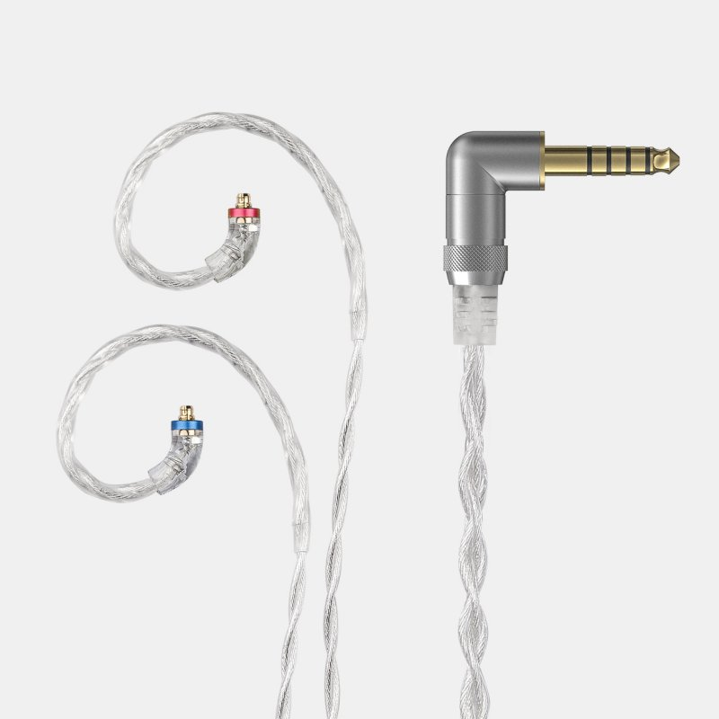 FiiO High-Purity Silver Headphone Cable - 2.5mm/3.5mm/4.4mm Cable Type 25D (2.5mm balanced)