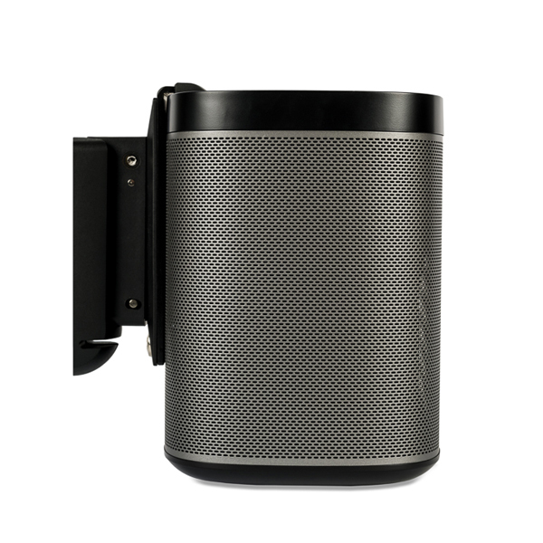 Flexson Wall Mount for SONOS PLAY1  Single Unit (Black or White) Colour BLACK