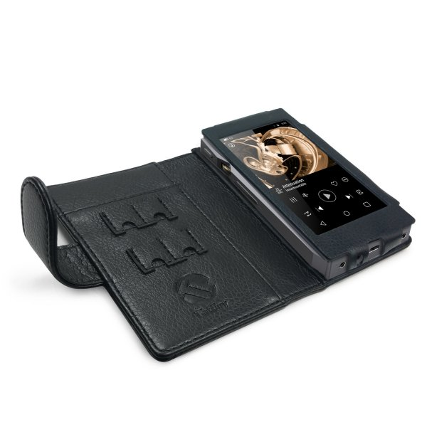 Image of Faux Leather Case Cover for FiiO X5 iii 3rd Gen - Black