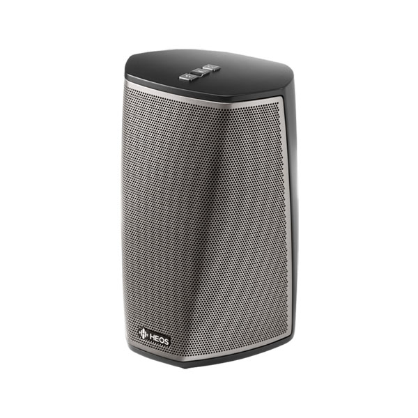 Compare retail prices of Denon HEOS 1 HS2 Wireless HiFi System - Amazingly big sound from a compact portable speaker with High Resolution Audio support Colour BLACK to get the best deal online