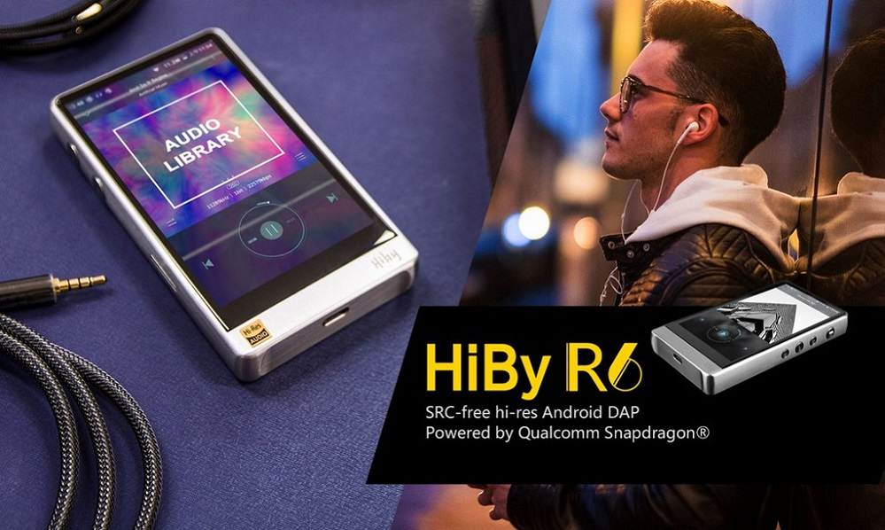 Advanced MP3 Players HiBy R6 Android Audio Player-Black
