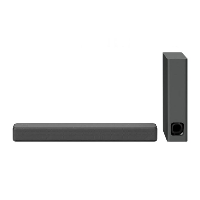 Sony HTMT300 Compact Soundbar with Interior Matching Design and Bluetooth Colour BLACK