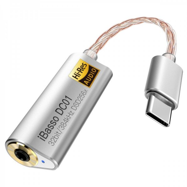 iBasso DC01 USB-C DAC Adapter with 2.5mm Output