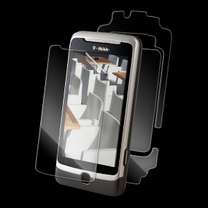 The InvisibleSHIELD HTC Desire Z Full Body SHIELD