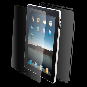 The InvisibleSHIELD Apple iPad WiFi plus 3G Maximum Coverage SHIELD