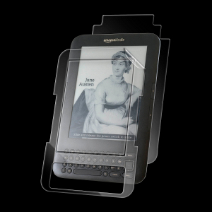 The InvisibleSHIELD Amazon Kindle III Full Body SHIELD