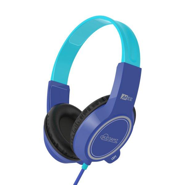 MEE KidJamz KJ35 Safe Listening Headphones for Kids with Volume-Limiting Technology Colour BLUE
