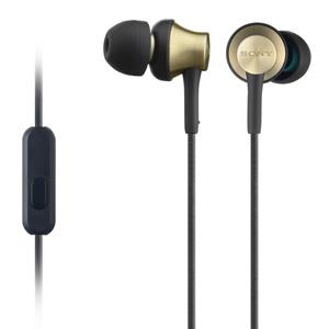 Sony MDR-EX650AP Smartphone-Capable In-Ear Brass Housing Earphones