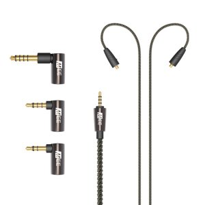 MEE Universal MMCX Hi-Fi balanced audio cable with adapter set
