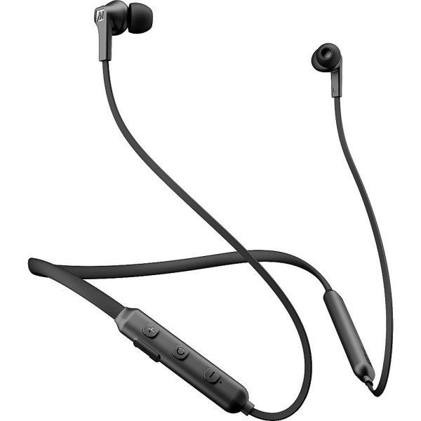 Compare prices for MEE Audio N1 Bluetooth Wireless Neckband In-Ear Headphones Colour BLACK