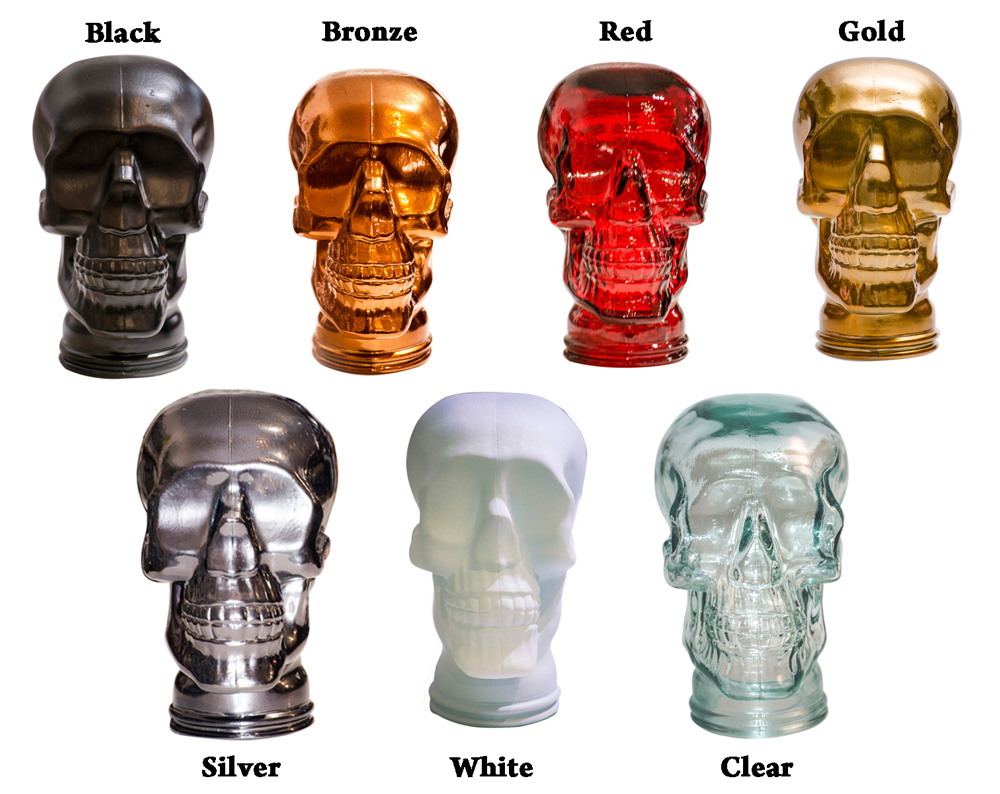 Glass Skull Colour Selection