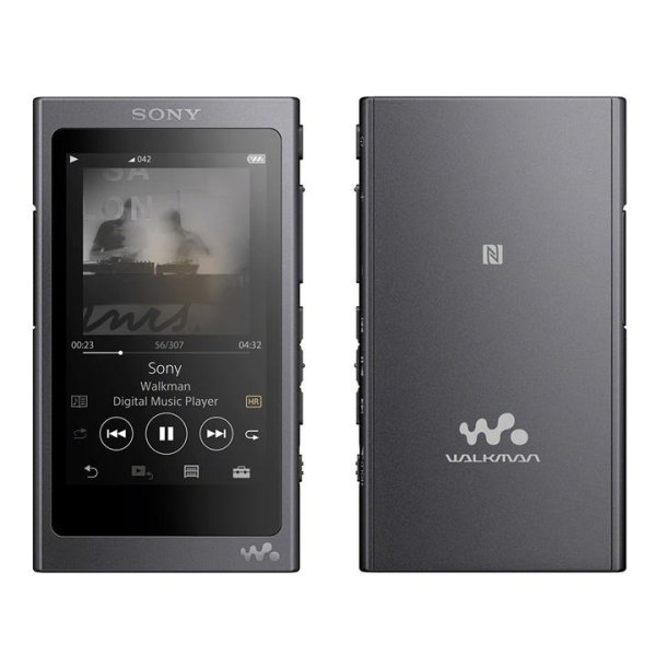 Image of Sony NW-A45 High Resolution Audio Walkman (3.1-Inch Touch Display, 16 GB, Micro SD with 45-Hour Battery Life) Colour GRAYISH BLACK