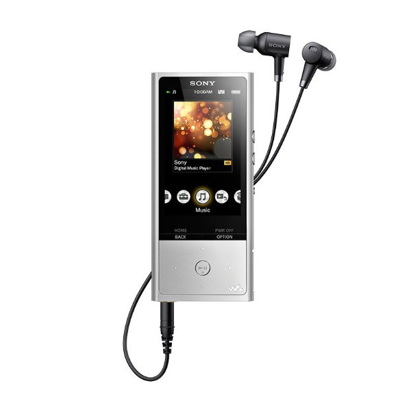 Sony NWZX100 HiRes 128GB Walkman with Noise Cancelling Headphones Included and Micro SD Expansion