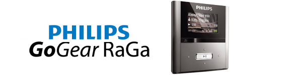 Philips Gogear Raga 2gb Mp3 Player Philips Gogear Raga 2gb Mp3