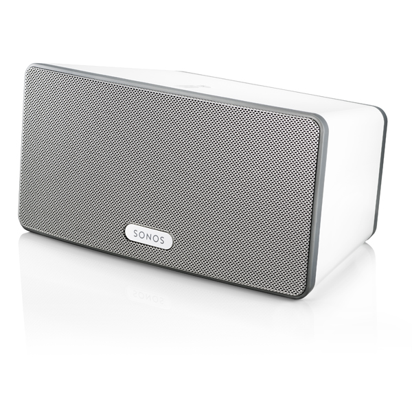 SONOS PLAY3 Wireless HiFi System  Immersive HiFi Sound. Serious roomfilling power Colour White