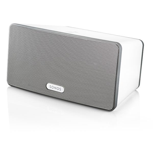SONOS PLAY3 Wireless HiFi System  Immersive HiFi Sound. Serious roomfilling power Colour White