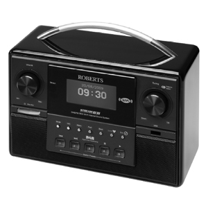 Roberts Sound 83i DAB FM WiFi Sound System with MP3 WMA Media Streaming