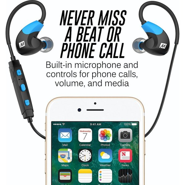 d26ec420f08 Advanced MP3 Players MEE Audio X7 Stereo Bluetooth Wireless Sports ...