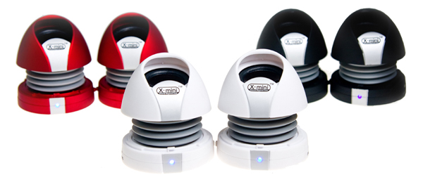 X-Mini MAX II Capsule Speakers